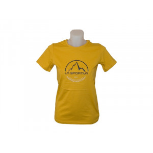 Footstep Tee Woman Yellow