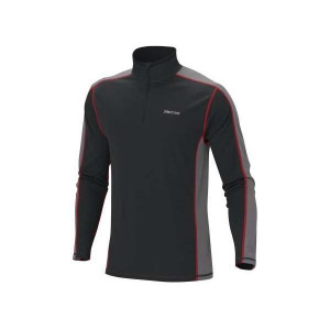 -Lightweight Zip Neck LS Men